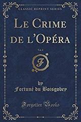 """Afficher """"Le crime de l'opéra"""""""